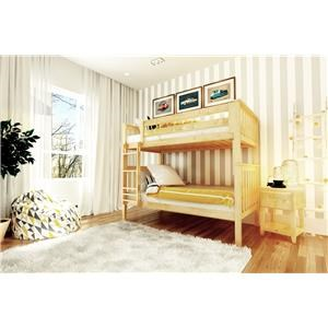 Bristol Twin/Twin Bunk Bed in Natural