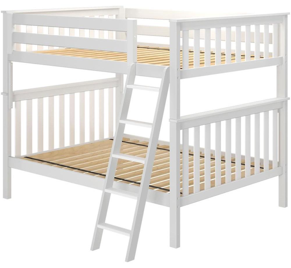 Cambridge 1 Full/Full Bunk Bed in White