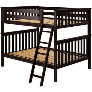 Cambridge 1 Full/Full Bunk Bed in Espresso