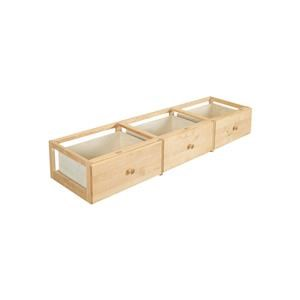 3 Drawer Underbed Unit in Natural