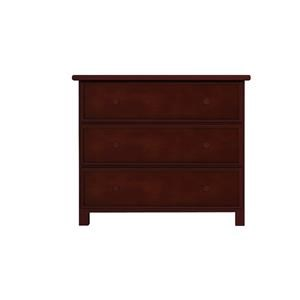 3 Drawer Dresser in Espresso