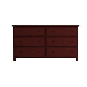 6 Drawer Dresser in Espresso