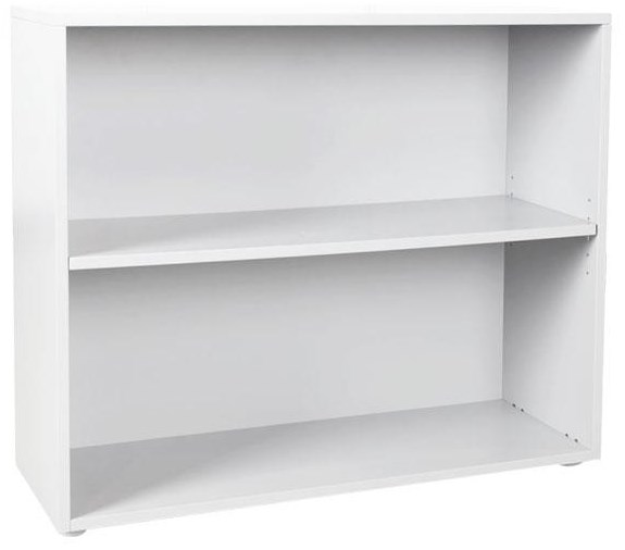 Low Bookcase in White