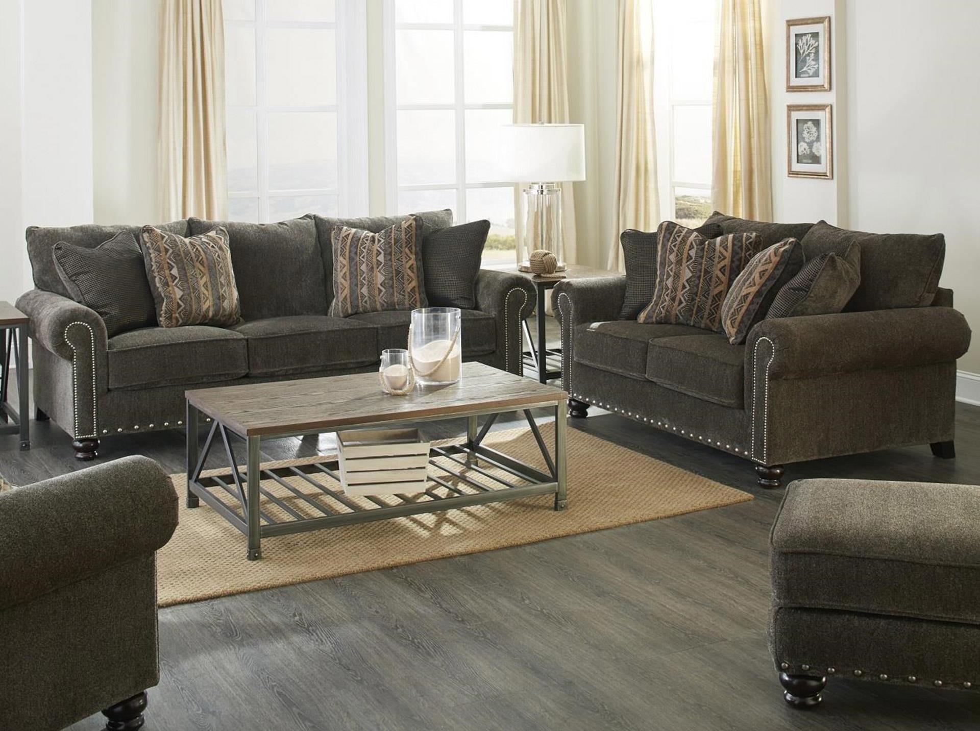 Jackson Furniture Avery Sofa & Loveseat - Item Number: GRP-3261-SL