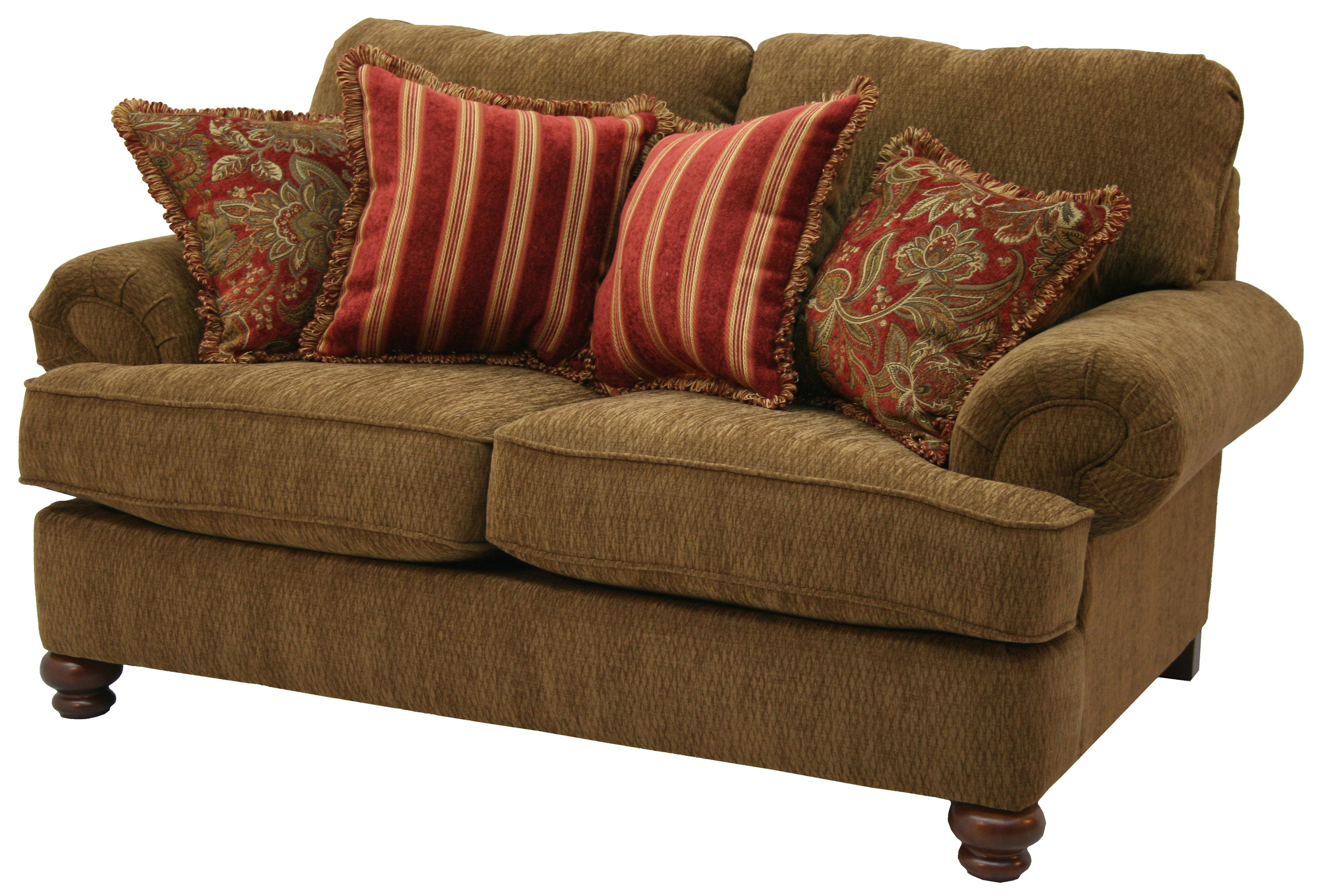 Jackson Furniture Belmont Traditional Styled Loveseat With