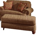Jackson Furniture Belmont Rectangular Ottoman with Bun Feet - Chair Sold Separately