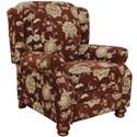 Comfy by Jackson Belmont High Leg Recliner - Item Number: 4347-11-Belmont-Merlot