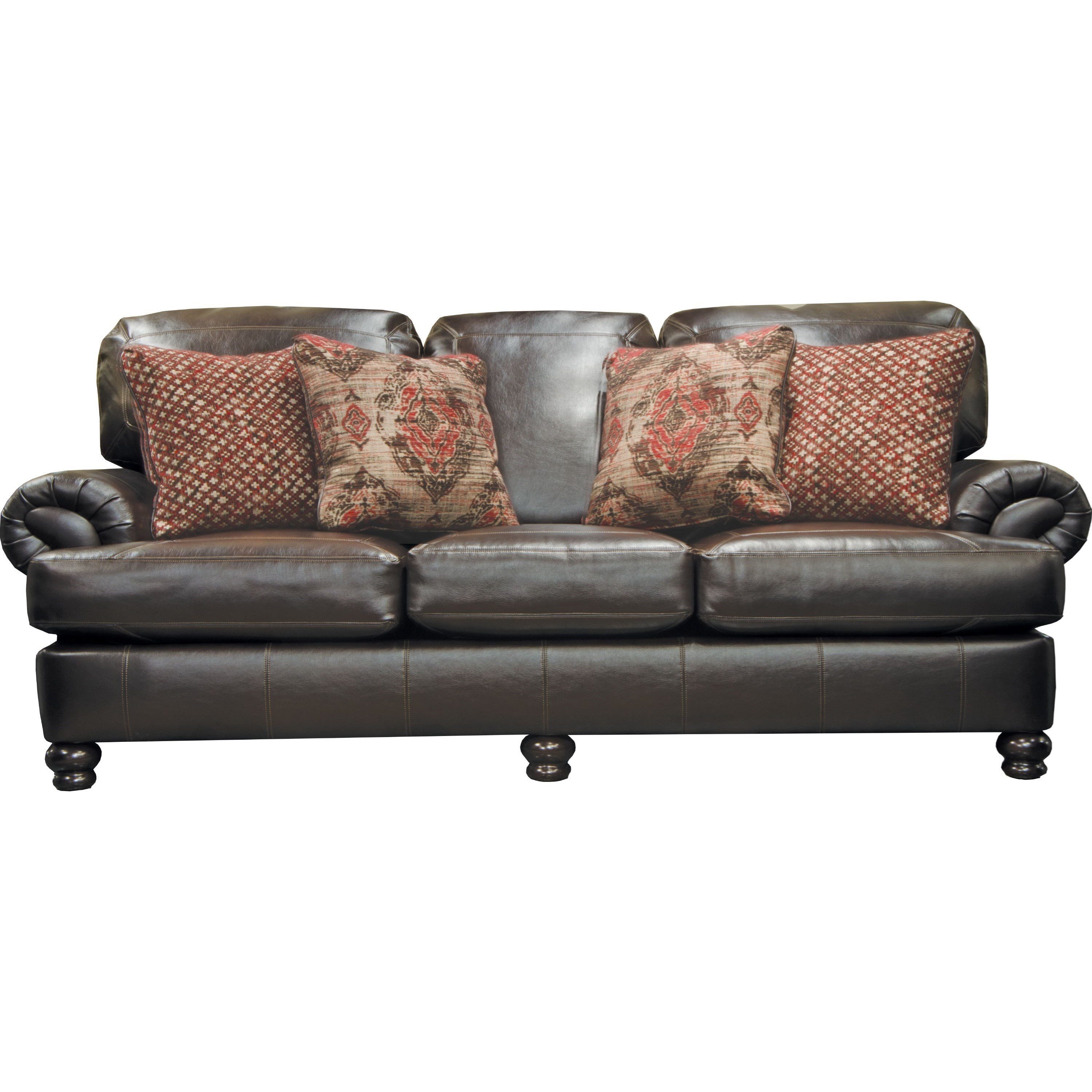 Jackson Furniture Southport Stationary Sofa - Item Number: 436703-Espresso