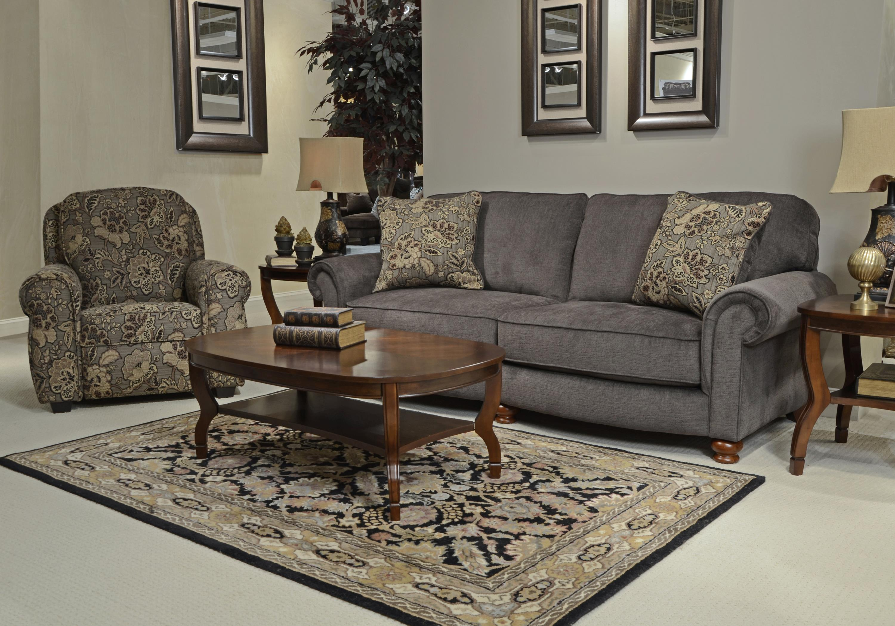 Jackson Furniture Downing Stationary Living Room Group   Item Number: 4384 Living  Room Group 1
