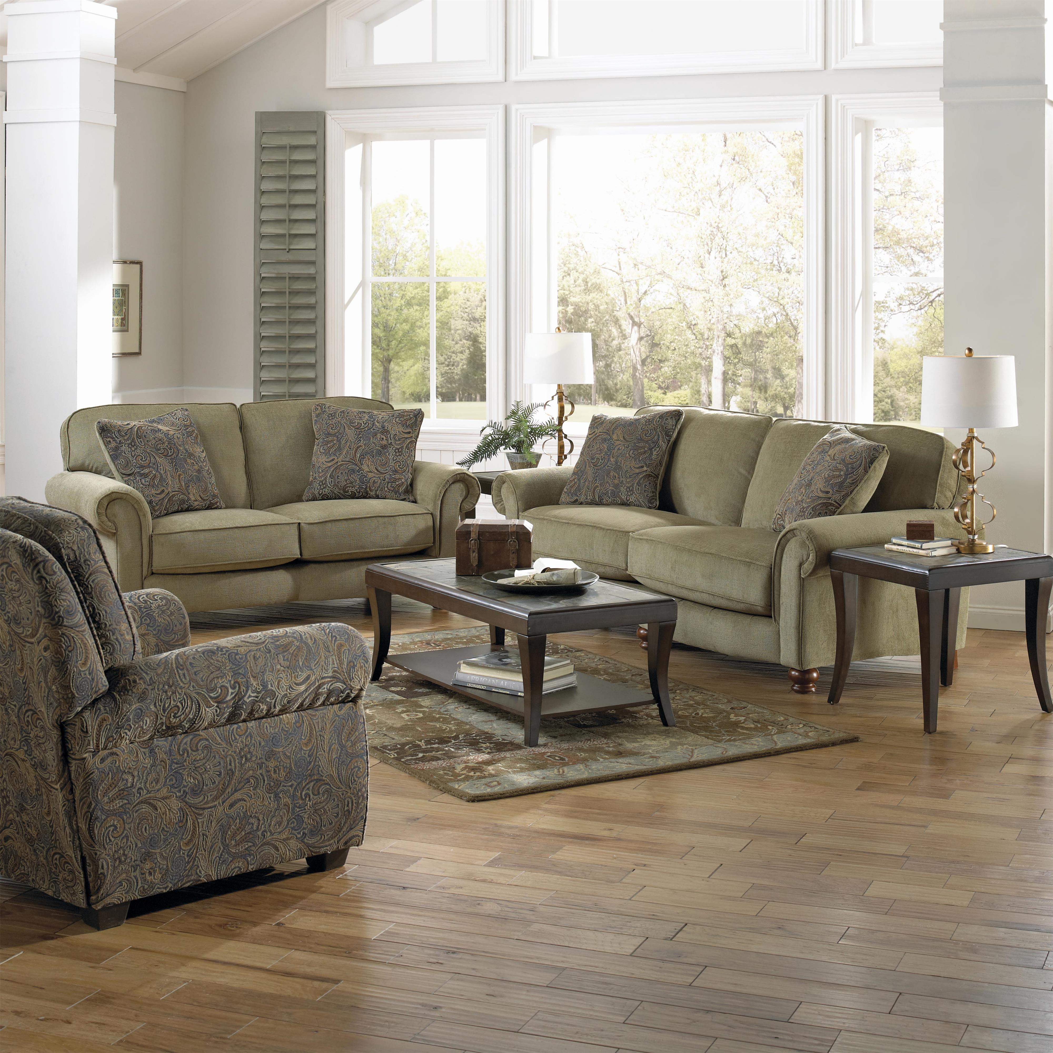 Jackson Furniture Downing Stationary Living Room Group - Item Number: 4384 Living Room Group 3