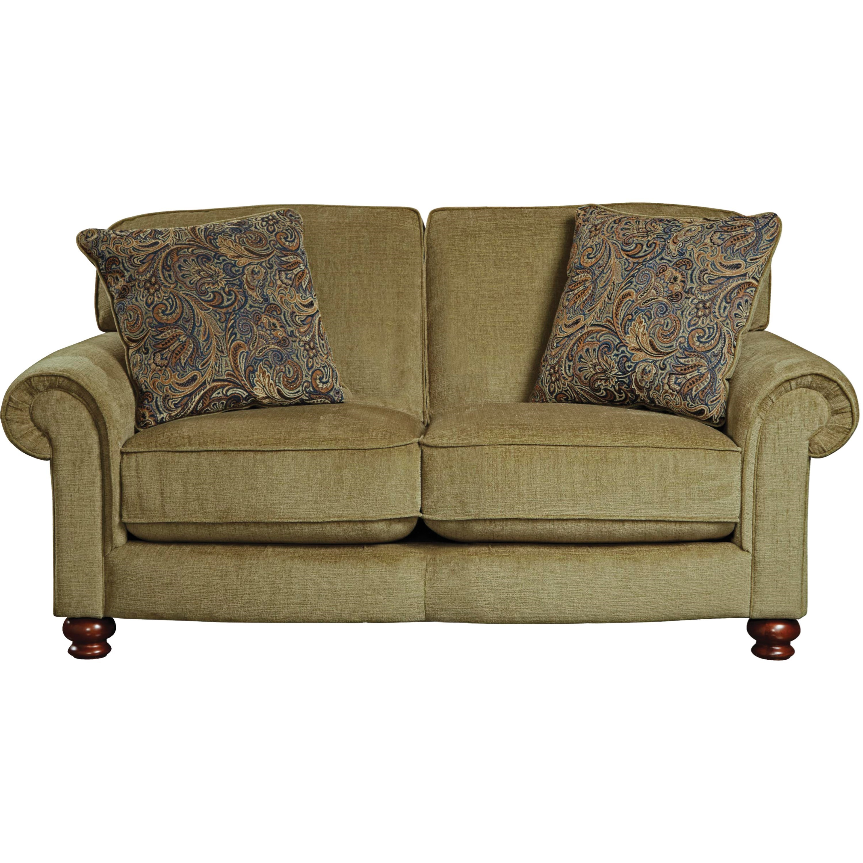 Jackson Furniture Downing Loveseat - Item Number: 4384-02-2906-35