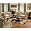 Jackson Furniture Brennan Loveseat for Formal Living Rooms