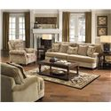 Jackson Furniture Brennan Stationary Living Room Group - Item Number: 4438-2697-26 Living Room Group 1