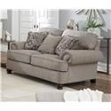 Jackson Furniture Freemont Loveseat - Item Number: 4447-02 2913-18 2914-48 2916-48