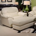 Jackson Furniture Grant Chair and a Half and Ottoman Set - Item Number: 4453-01+10-1262-01-3062-01
