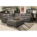 Jackson Furniture Grant Sectional Sofa - Ottoman Sold Separately