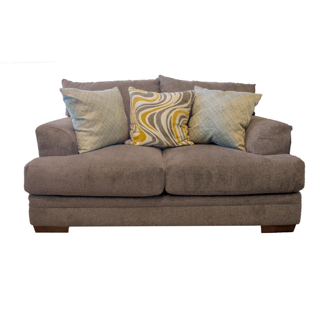 Jackson Furniture Crompton Pewter Loveseat - Item Number: JACK-4462-02 2000-88 2860-27