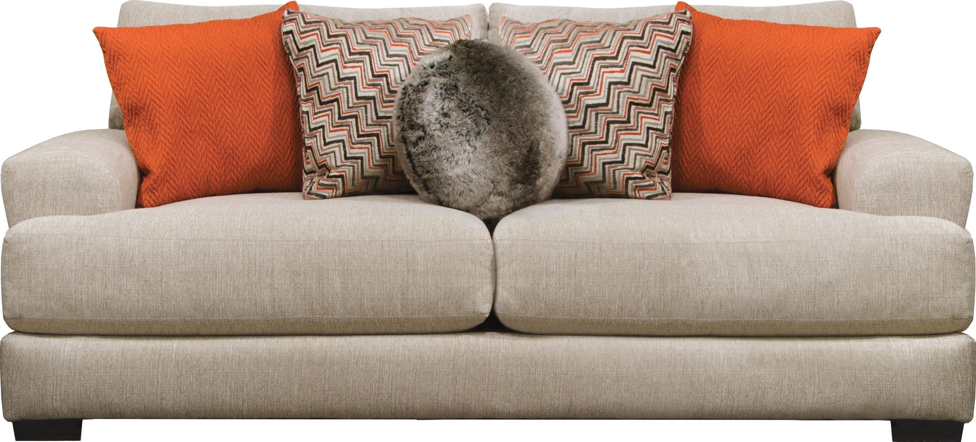 Jackson Furniture Ava Cashew Sofa - Item Number: 4498-03 1796-36