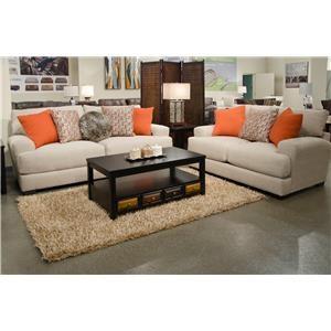 Jackson Furniture Ava Cashew Sofa & Loveseat