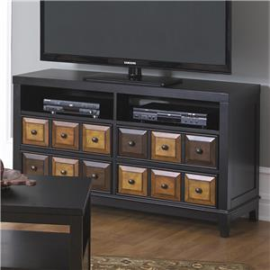 Jackson Furniture 857 Tables TV Console or Wine Shelf
