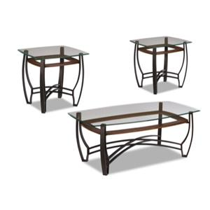 Jackson Furniture 867 3 Pack Occasional Table Set