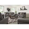 Jackson Furniture Ackland Loveseat with USB Port - USB Port May Not Be Pictured