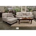 Jackson Furniture Ackland Sofa with USB Port - USB Port May Not Be Pictured