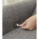 Jackson Furniture Ackland Sofa with USB Port - USB Port Detail Shot