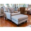 Jackson Furniture Ackland Chair & Ottoman - Item Number: GRP-3156-CO