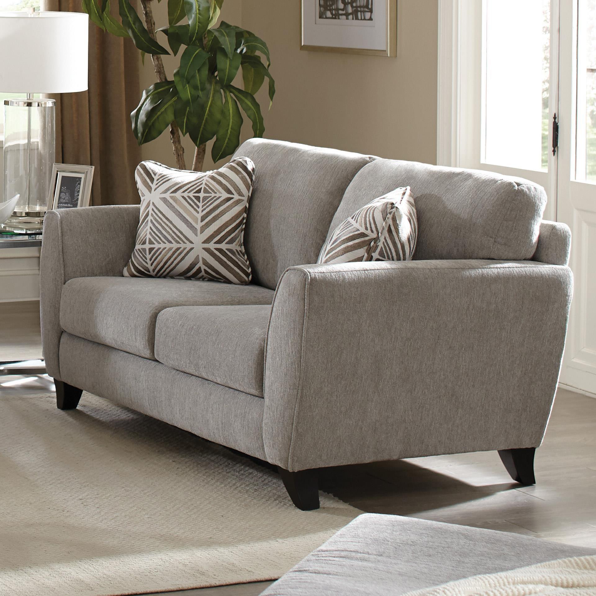Jackson Furniture Alyssa Pebble Loveseat - Item Number: 4215-02-2072-18-2073-28