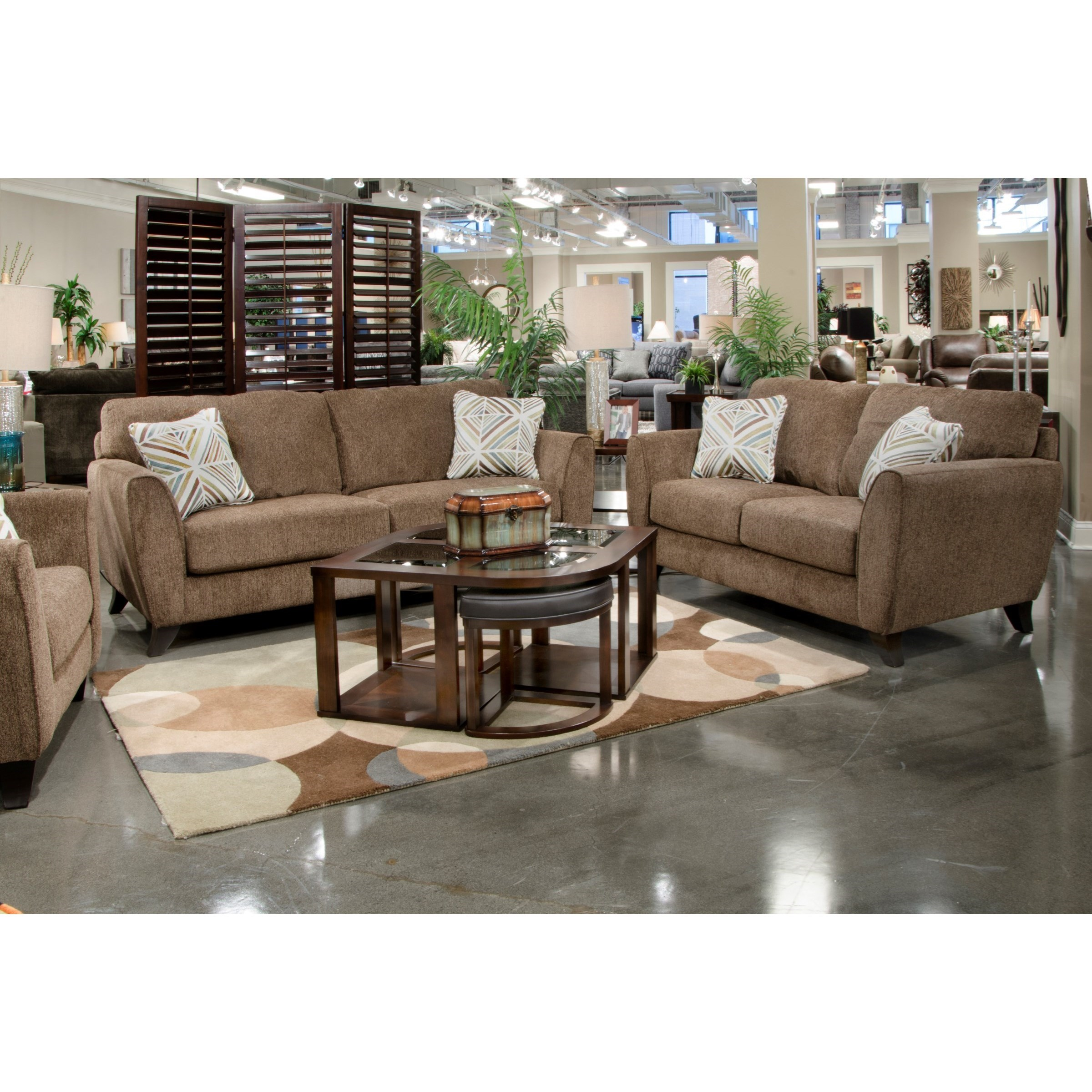 Alyssa Living Room Group by Jackson Furniture at Zak's Warehouse Clearance Center