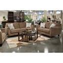 Jackson Furniture Alyssa Living Room Group - Item Number: 4215 Living Room Group 1 Latte