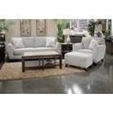 Jackson Furniture Alyssa Living Room Group - Item Number: 4215 Living Room Group 2