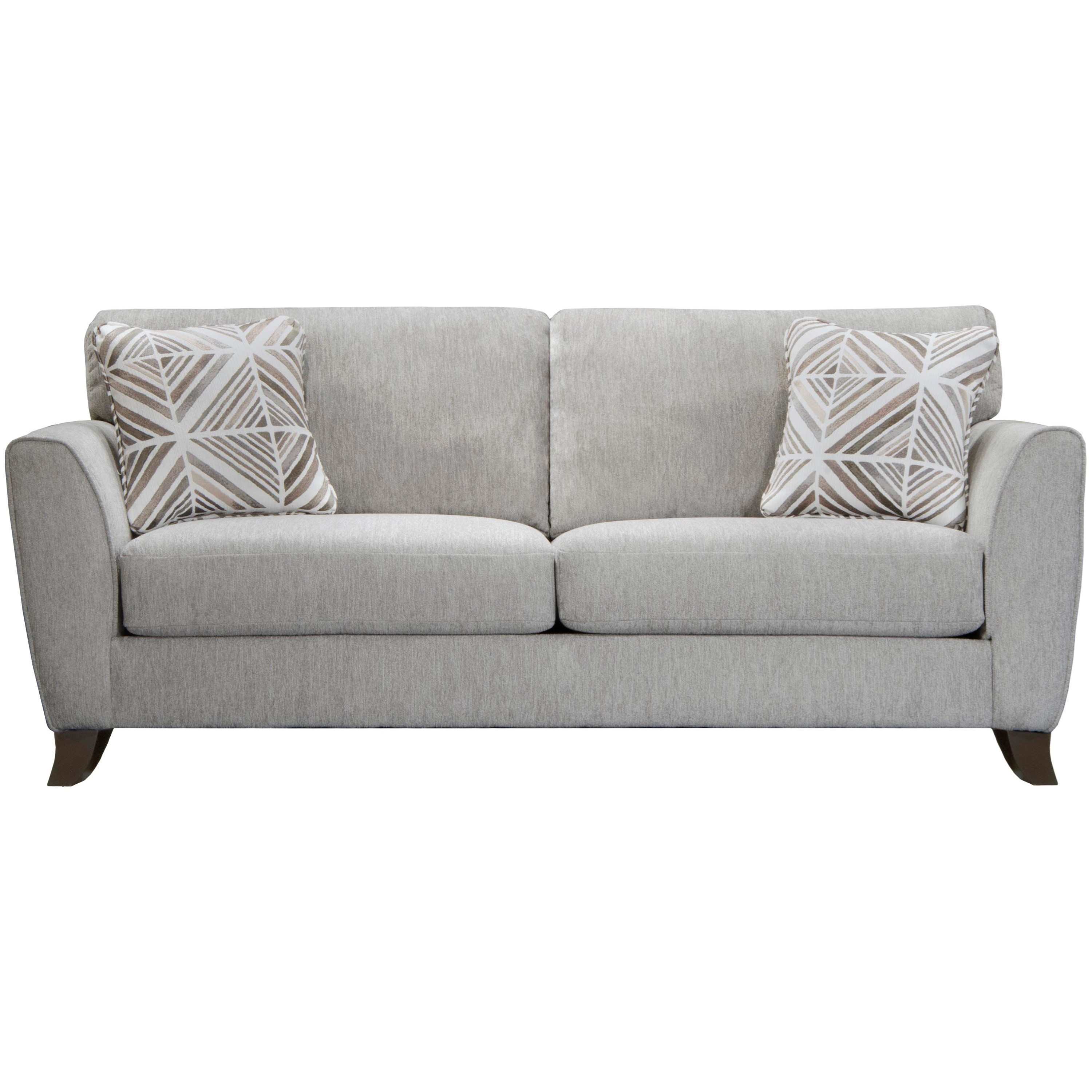 Alyssa Sofa by Jackson Furniture at Zak's Warehouse Clearance Center