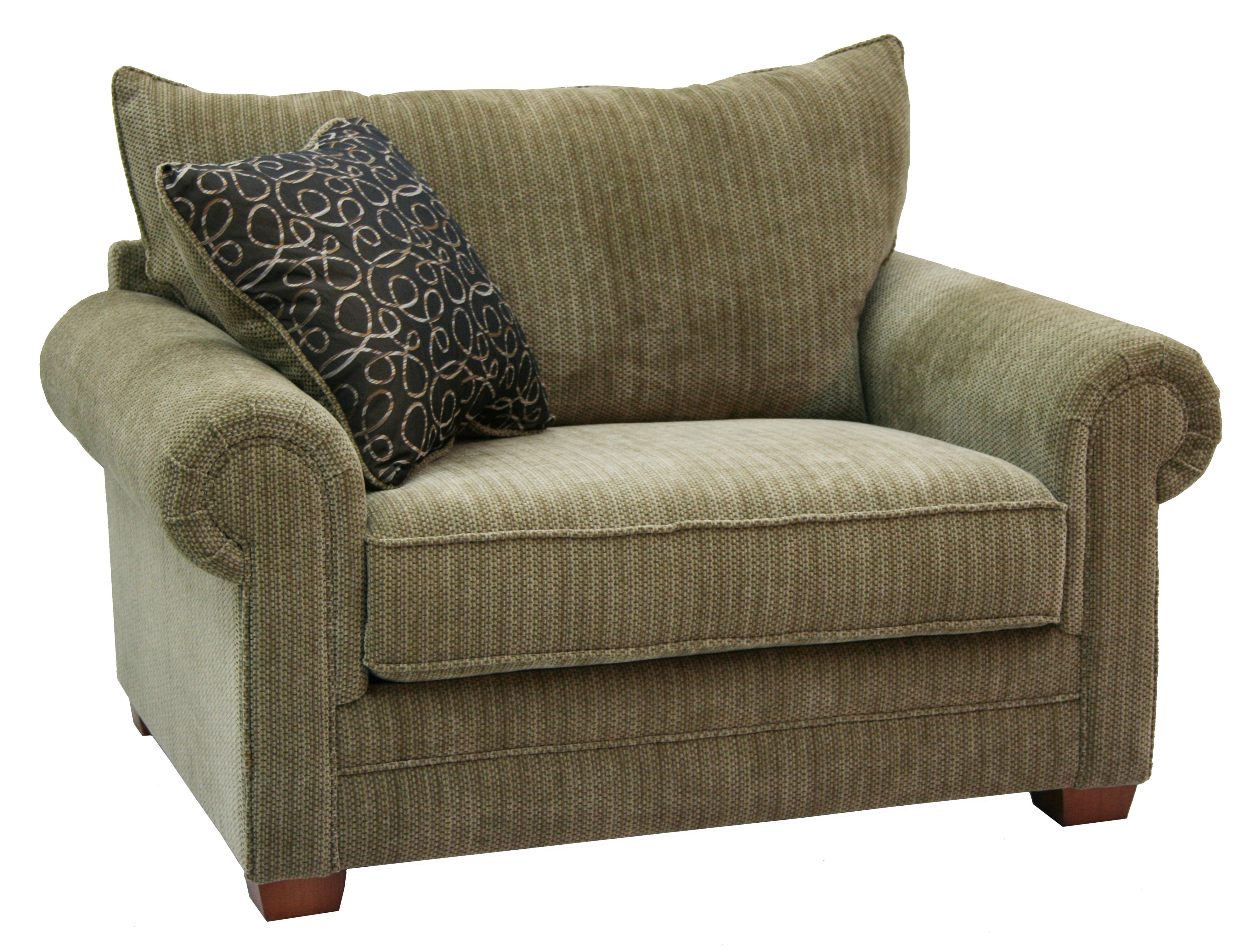 Jackson Furniture Anniston Oversized Rolled Arm Chair Lindy s