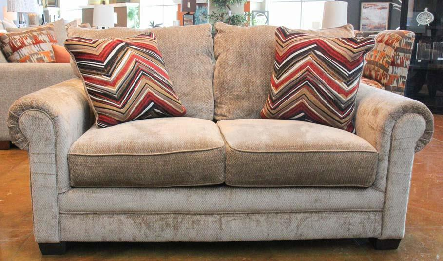 Jackson Furniture Anniston Loveseat - Item Number: 4342-02-2697-36-2717-54