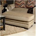Jackson Furniture Anniston Ottoman - Item Number: 4342-10-Anniston_Fawn