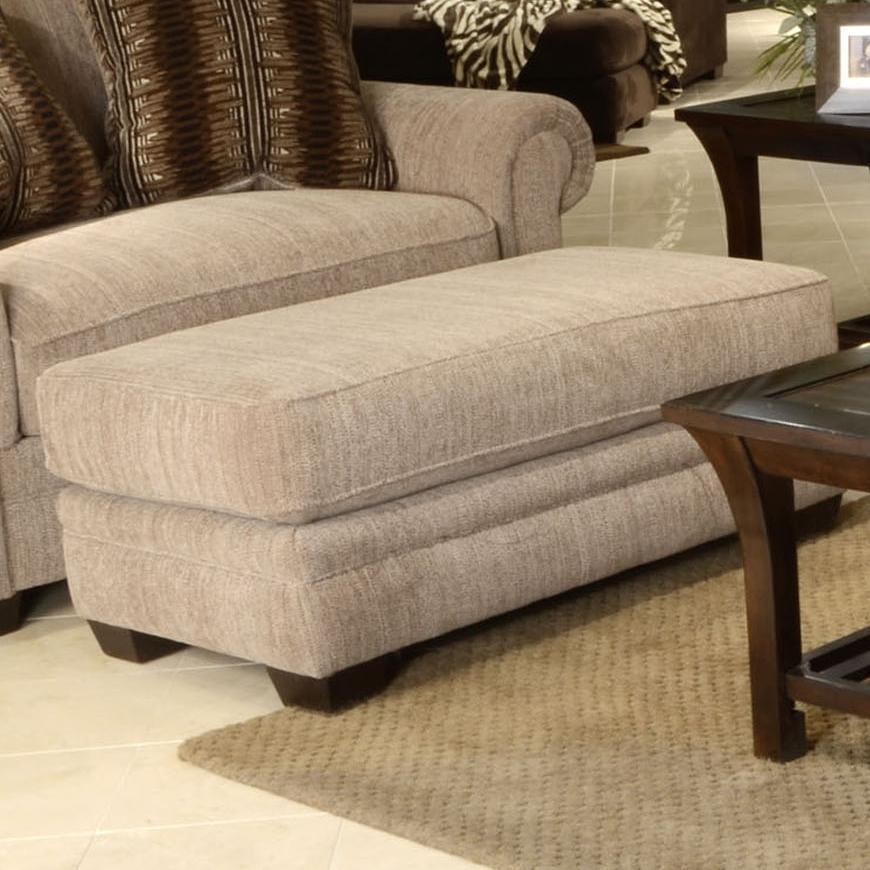 Jackson Furniture Anniston Ottoman - Item Number: 4342-10-Anniston_Saddle