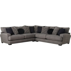 Sectional Sofa with 4 Seats