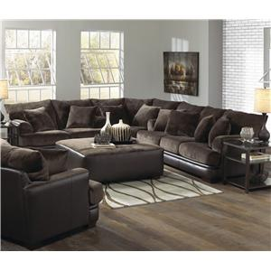 Jackson Furniture Barkley  Sectional Left Love