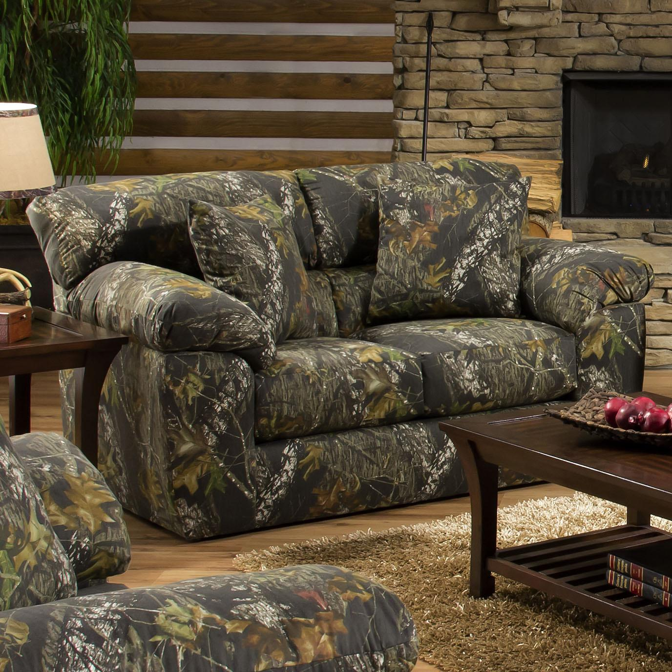 Jackson Furniture Big Game Camouflage Loveseat   Item Number: 3206 02