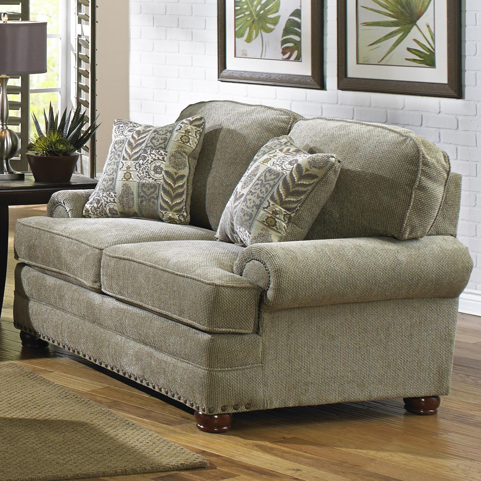 Jackson Furniture Braddock Loveseat - Item Number: 4238-02 Mineral