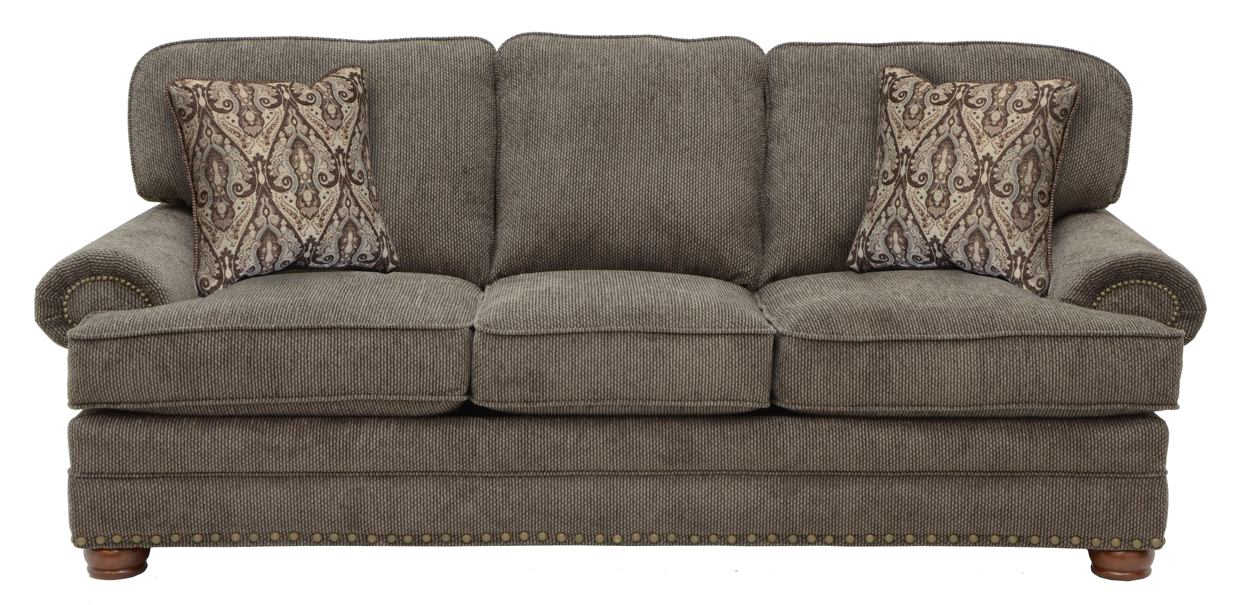 Jackson Furniture Braddock Sofa  - Item Number: 4238-03 Metal