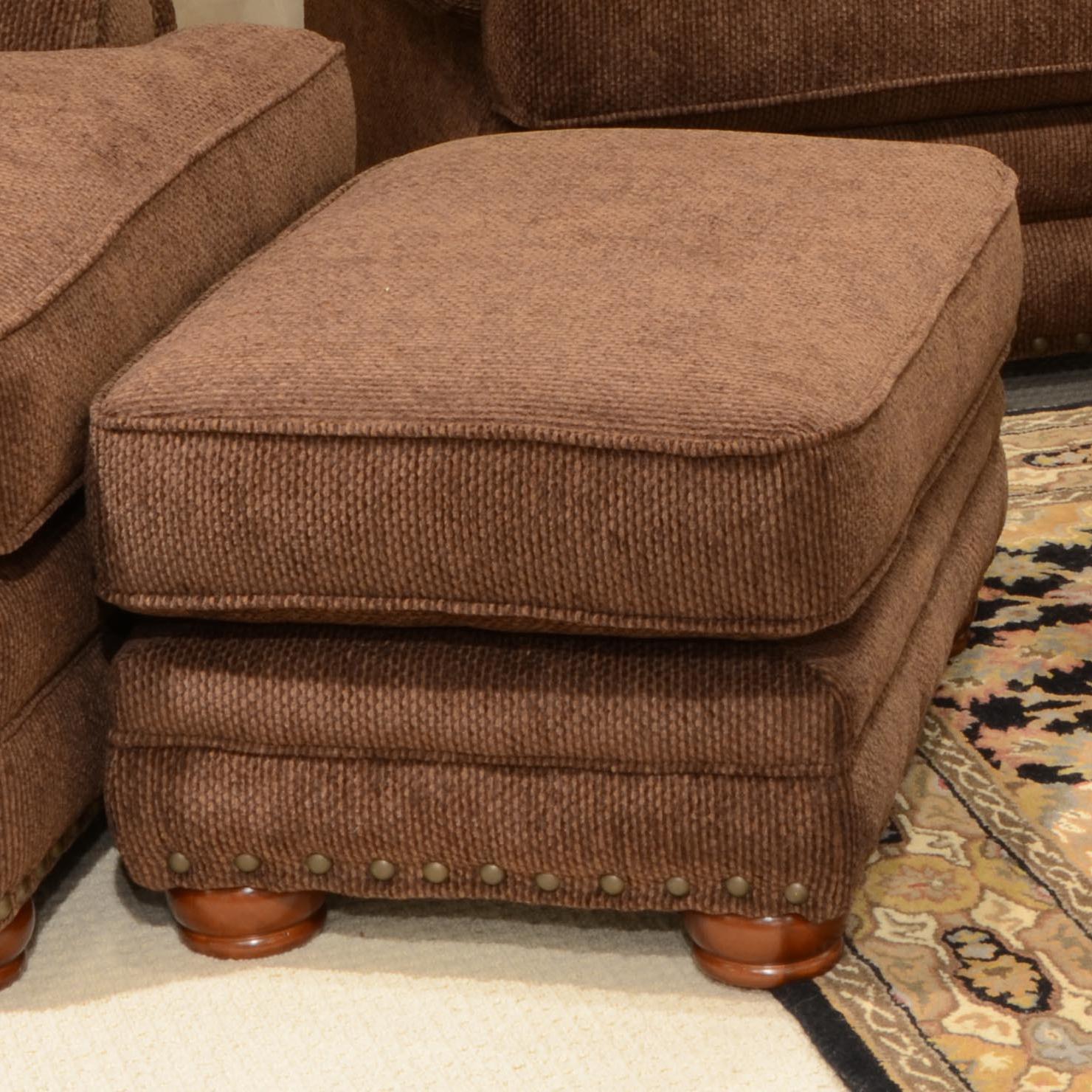 Jackson Furniture Braddock Ottoman - Item Number: 4238-10 Espresso