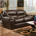 Jackson Furniture Brantley  Contemporary Loveseat with Modern Family Style - 4430-02 1215-09/3015-09