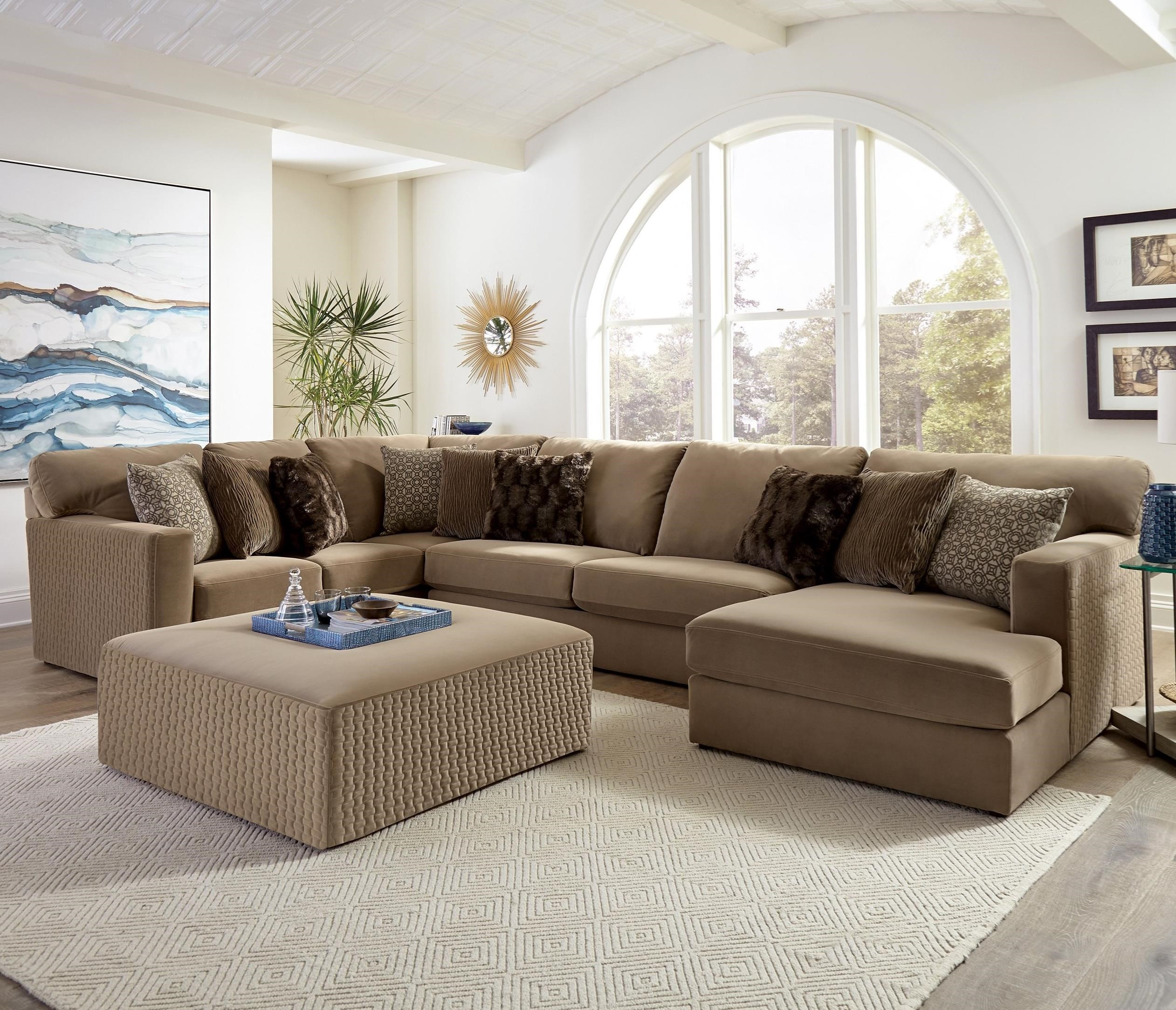 Carlsbad 3-Piece U-Shape Sectional by Jackson Furniture at Northeast Factory Direct