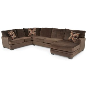 Jackson Furniture Charisma Sectional Sofa with Five Seats
