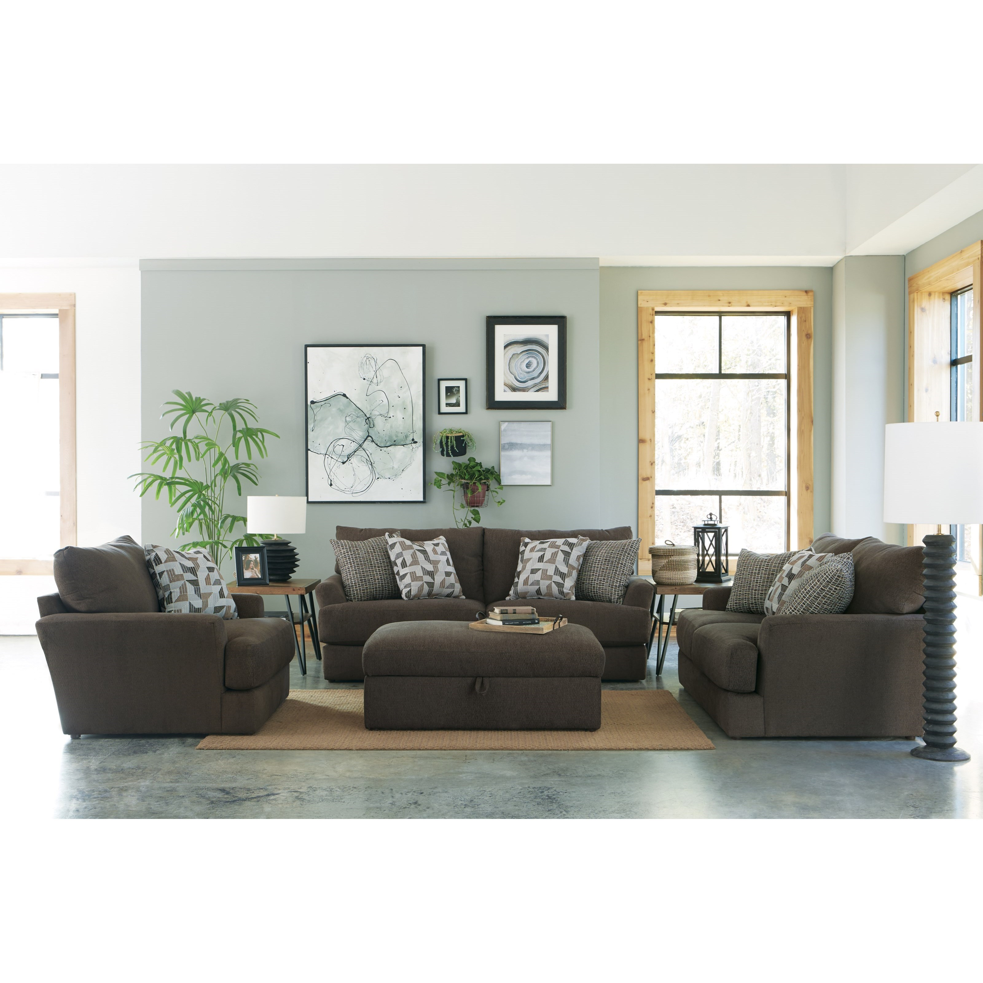 Copeland Stationary Living Room Group by Jackson Furniture at Northeast Factory Direct