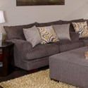 Jackson Furniture Crompton Loveseat with Casual Style - Item Number: 4462-02-2000-88