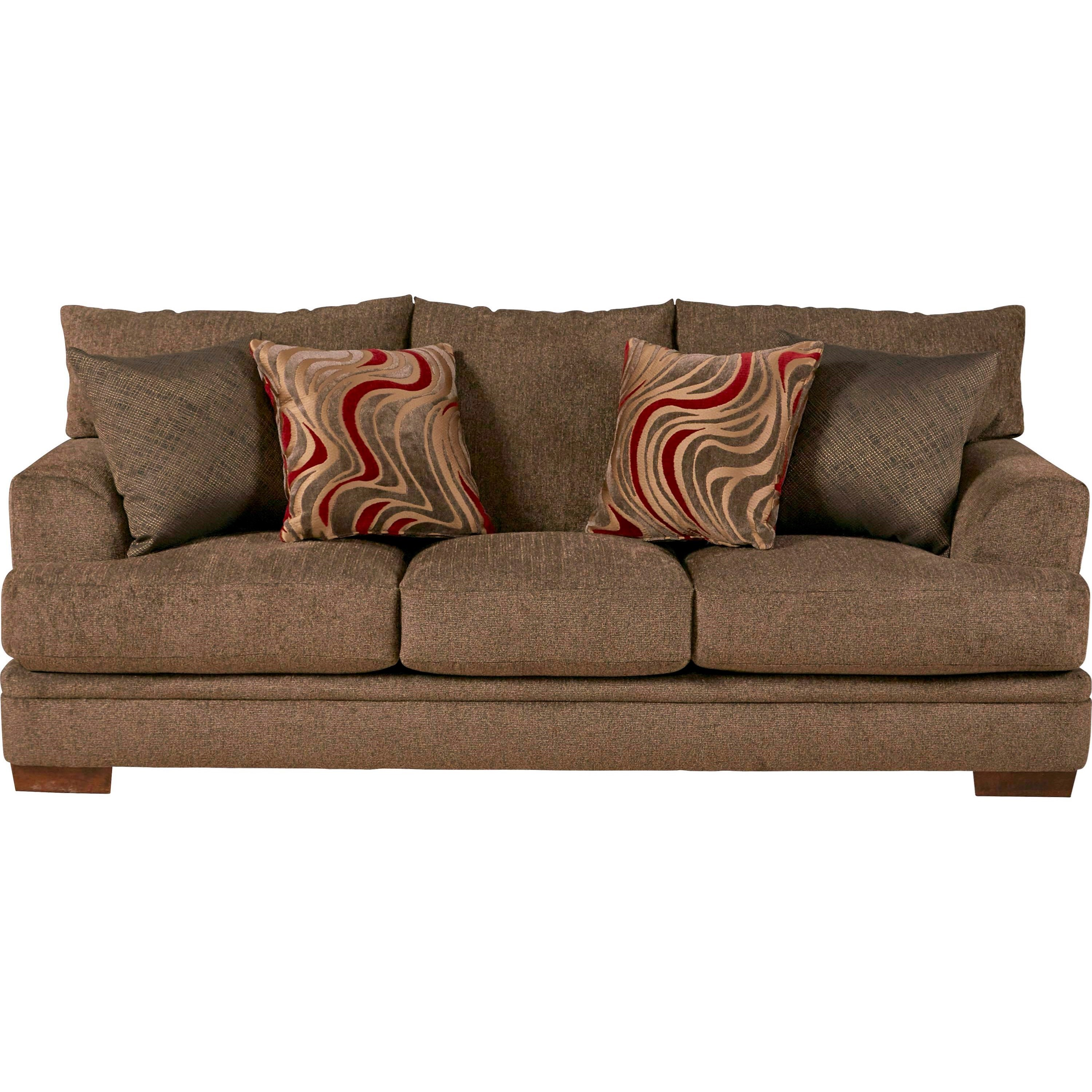 Jackson Furniture Crompton Sofa with Casual Style Wayside